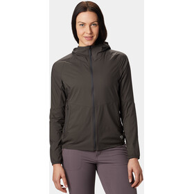 Mountain Hardwear Kor Preshell Chaqueta con capucha Mujer, void